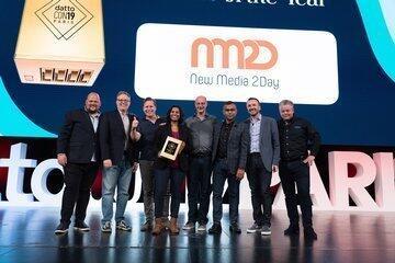 new-media-2day-ontvangt-gouden-datto-award-op-dattocon19-in-parijs